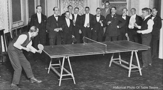 Table Tennis History
