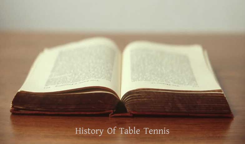 History Of Table Tennis Who Invented Ping Pong