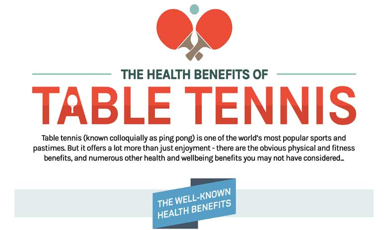 Table Tennis Health Benefits