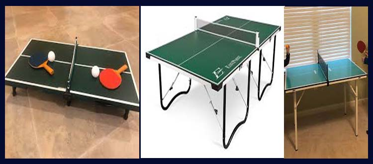 Portable ping pong table